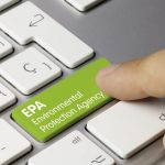 environmental protection agency (EPA) button
