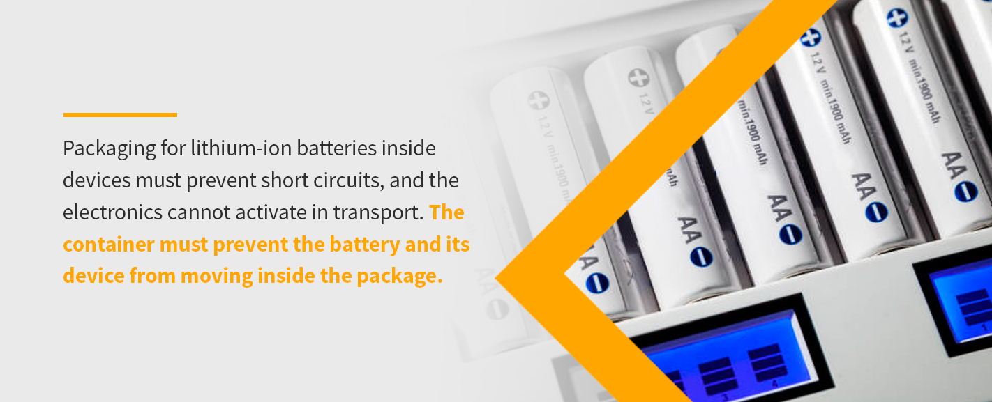 packaging lithium batteries