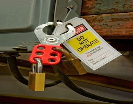 OSHA Lockout/Tagout (Control of Hazardous Energy) Training - $35