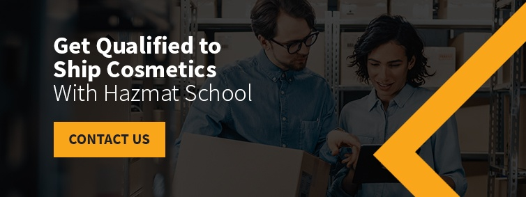 Get Qualified to Ship Cosmetics With Hazmat School
