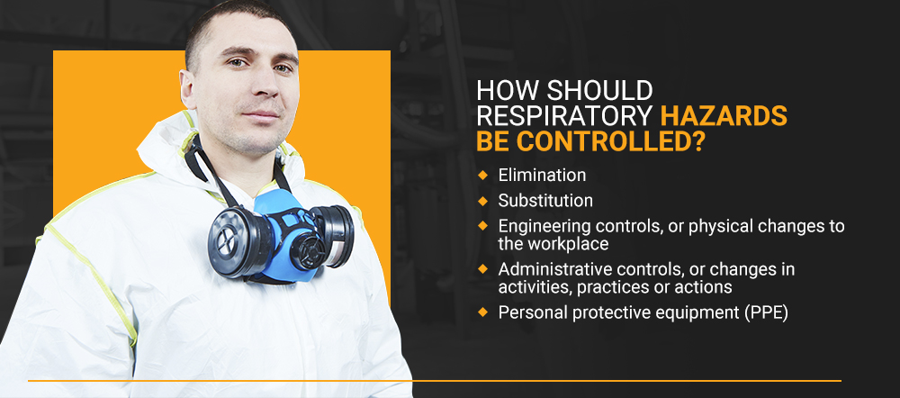 How Should Respiratory Hazards Be Controlled?