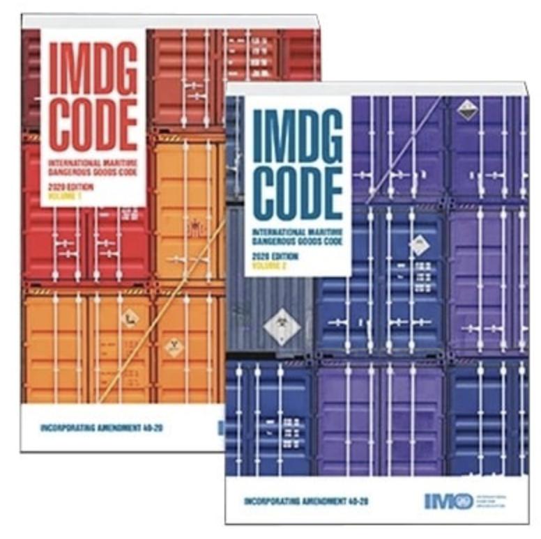 IMDG 40th edition book